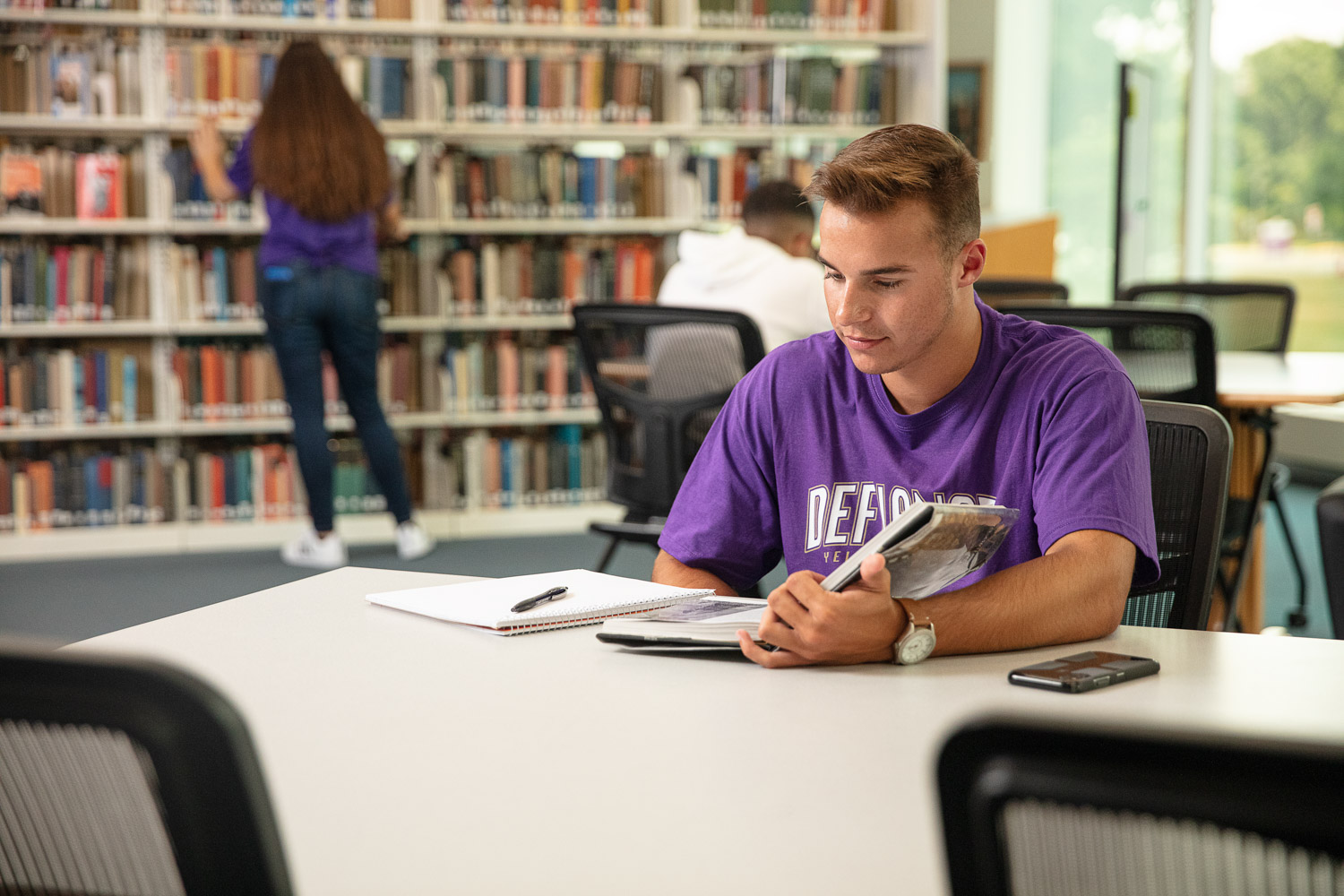 Defiance College student