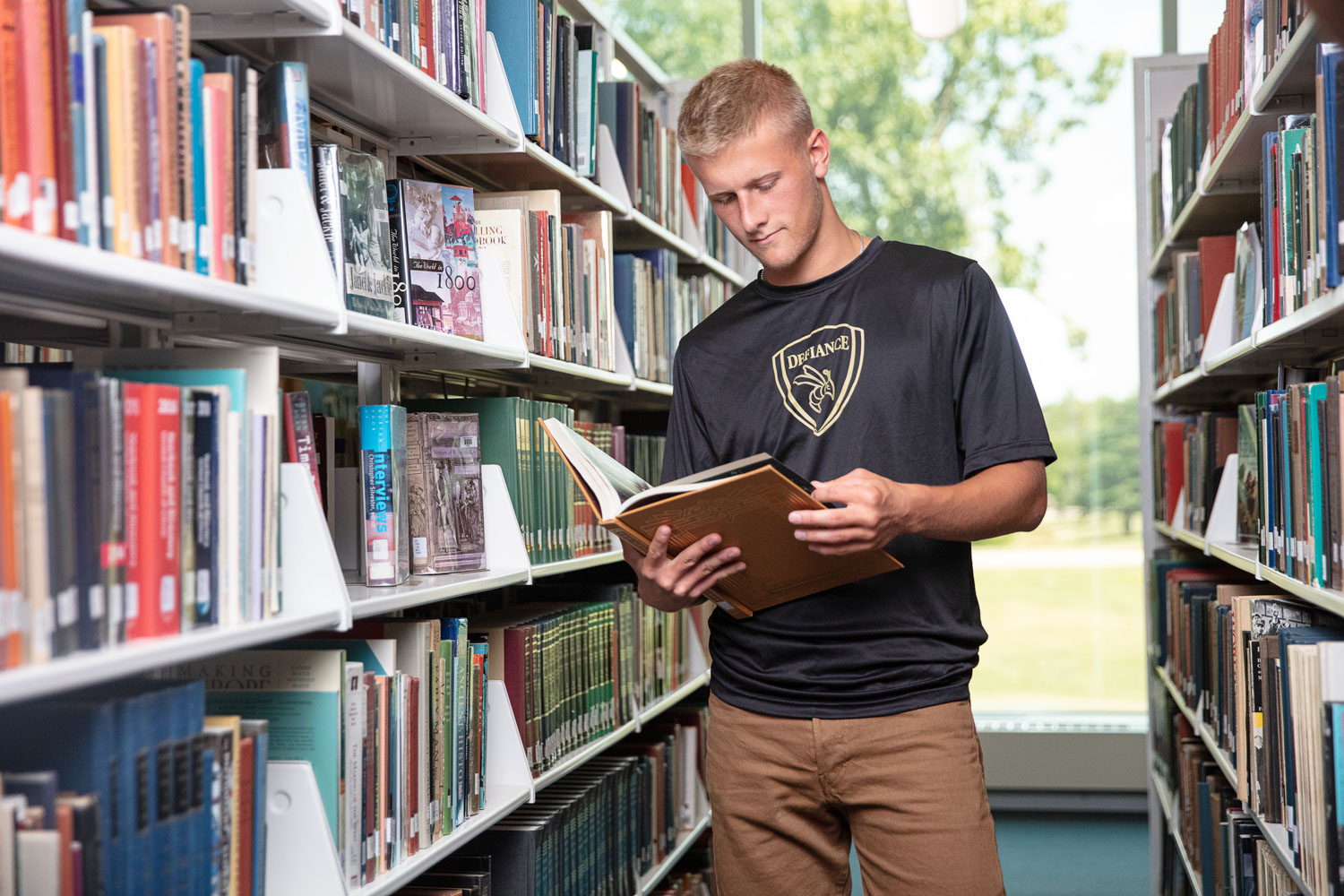 McMaster Scholar in Library
